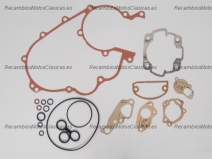 Vista frontal del kit juntas motor Vespa T5 en stock